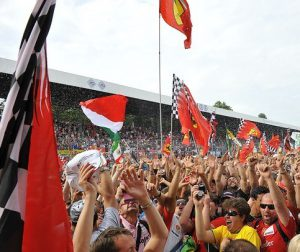 formula 1 ferrari fans 300x252 - Businesses Can Benefit from Massive Sports Events